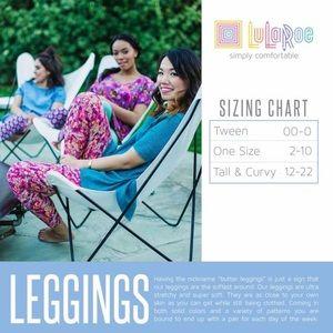 LuLaRoe Pants - LuLaRoe   Tall & Curvy Leggings, NWOT